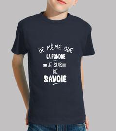 I am from Savoie