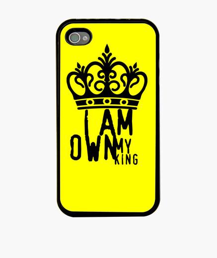 Funda iPhone I am my own king