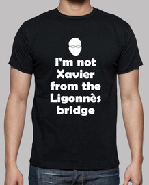 i am not xavier - white