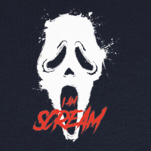 Camisetas I am scream