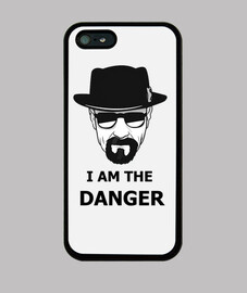 I am the danger Iphone Case