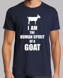i am the human spirit of a goat