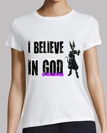 I Believe In God Of Destruction (Mujer, Manga Corta)