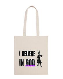 I Believe in God of Destruction (Totebag)