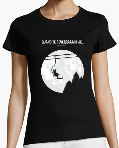 T-shirt i bronzo au clair de lune
