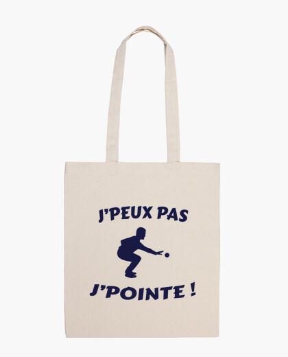 I can39t - I point humor petanque bag
