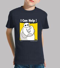 I can help! camiseta niño