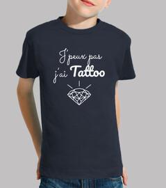 I can not I have diamond tattoo