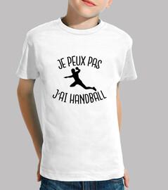i can not i have handball