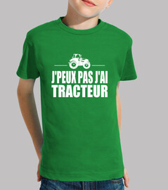 i can not i have tractor