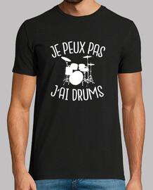 i can not i tambores