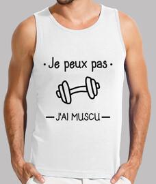 i can not jai muscu, bodybuilding