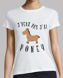 i can not jai pony