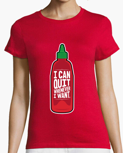 I can quit whenever i want t-shirt