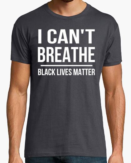 Camiseta I Cant Breathe - Black Lives Matter