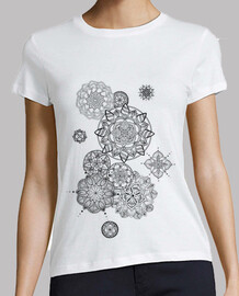 i come and go, woman, short sleeve, white, premium quality