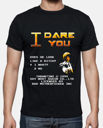 Camisetas I dare you