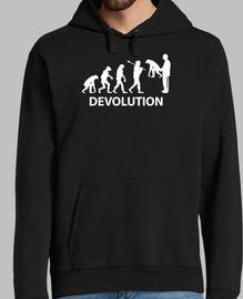 I dévolution (sur fond noir)
