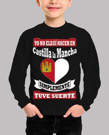 i did not choose castilla la mancha, i was lucky