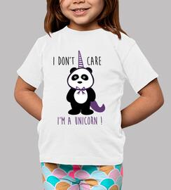i do not care i ein einhorn bin