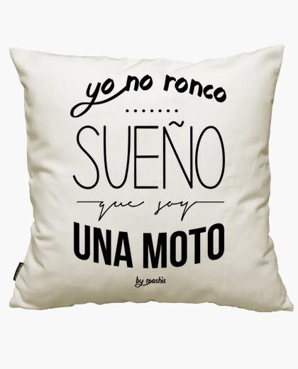 I do not snore, i dream i'm a bike cushion...