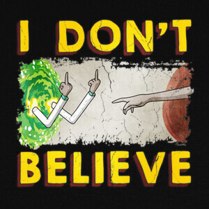 Camisetas I Don't Believe