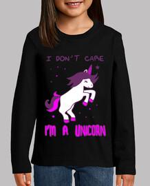 i dont care im a unicorn, unicorn, humor