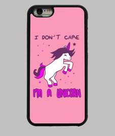 I don't care i'm a unicorn,licorne,humour