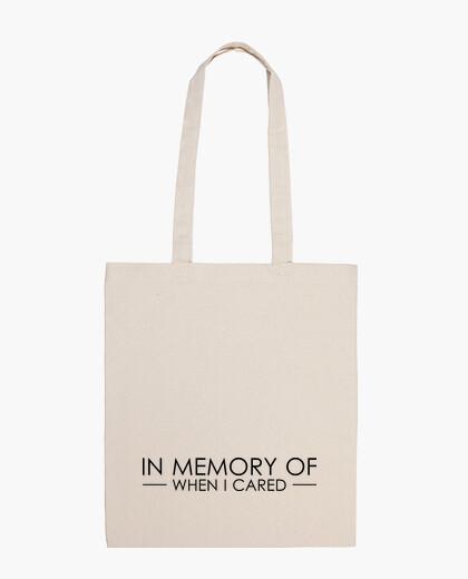 Bolsa I don't care tote Bag