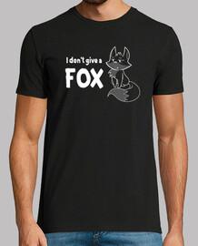 I Dont Give a FOX - Mens Shirt