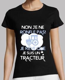 I dream that I am a tractor