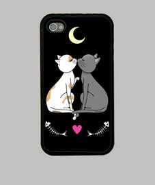 i gatti innamorati kawaii