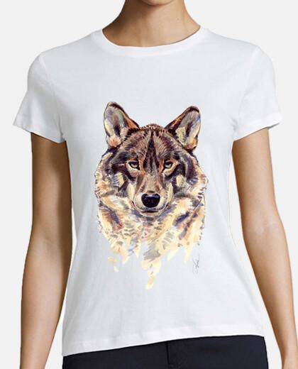 i girl white wolf