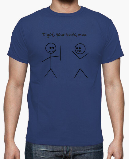 Camiseta I got your back man