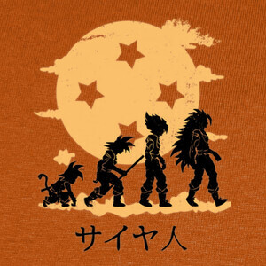 Camisetas I Grew up Looking for the Dragon Ball V2