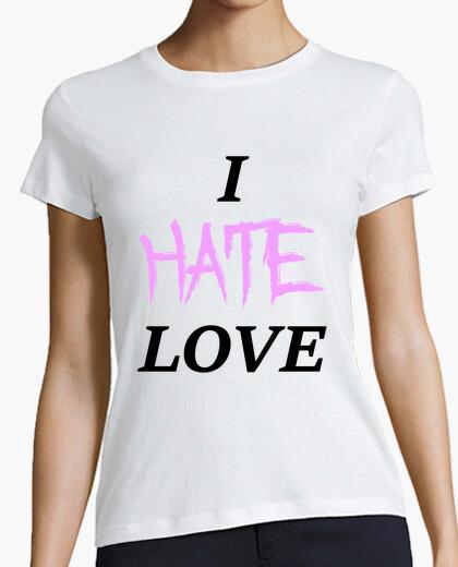 T-shirt i hate amore