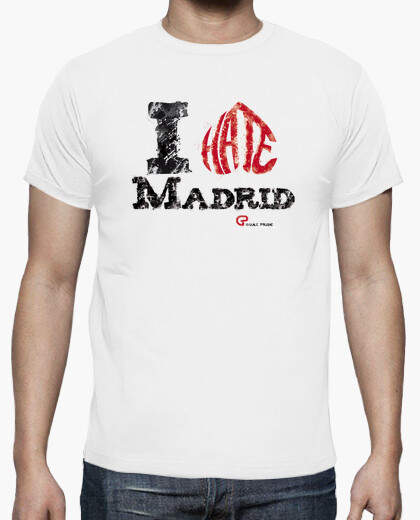 Camiseta I hate Madrid
