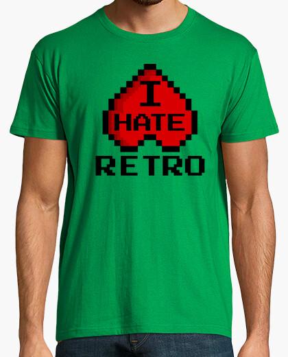 Camiseta I HATE RETRO