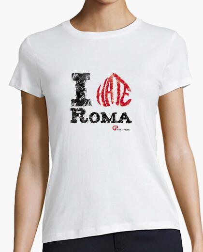 Camiseta I hate Roma