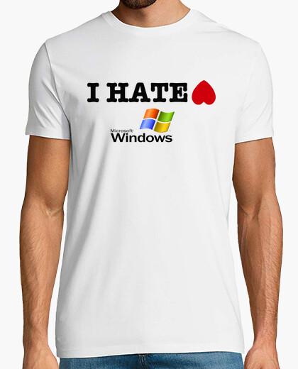 Camiseta I HATE WINDOWS