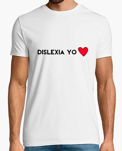 T-shirt i heart dislessia