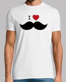 I heart Moustache