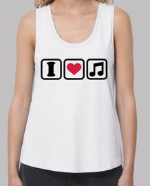 i heart note musicali