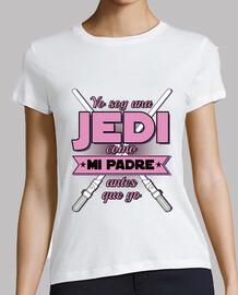 i I am jedi - pink