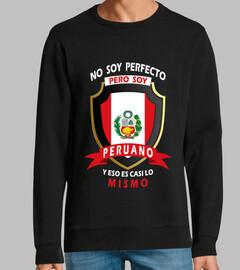 i I am not perfect, I am peruvian.