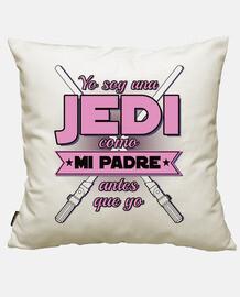 i I am one jedi - pink