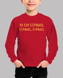 i I am spanish, spanish, spanish child