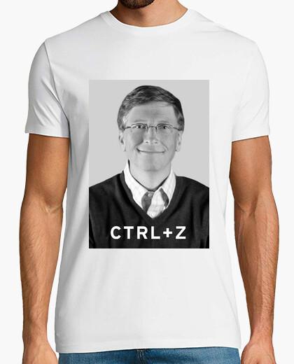 2f6687a2d I invented the ctrl z (bill gates) T-shirt - 484682   Tostadora.com