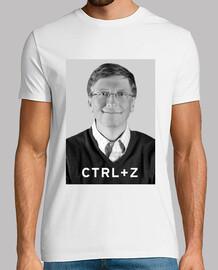 I invented the ctrl z (bill gates)