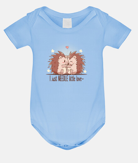 I just NEEDLE little love - Hedgehog - Baby Onsie